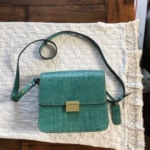 Cynthia Rowley Bags - Teal Leather Cynthia Rowley Shoulder Bag NWOT